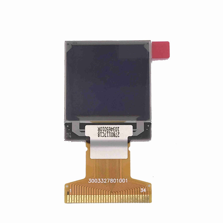 Thin 1.12inch PMOLED Display SPI Interface For Electronic Cigarettes 96*96