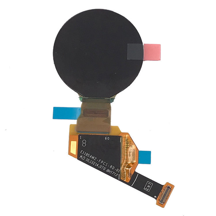 Small 1.19 Inch Round Amoled Display 390*390 With MIPI / SPI Oled Display Panel