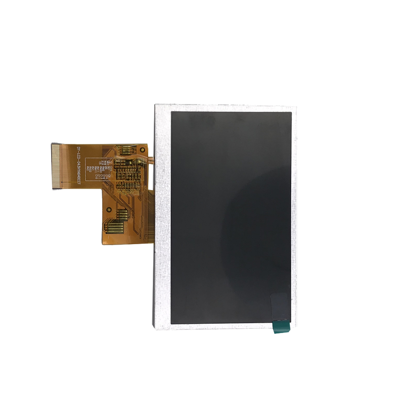 IPS 4.3 Inch TFT LCD Display 480 X 272 Resolution